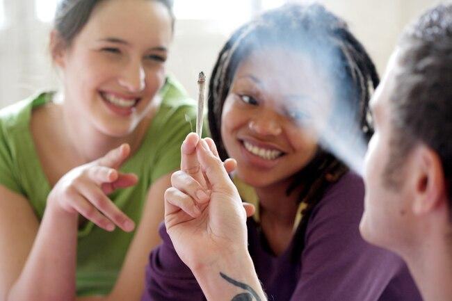 Smoking Marijuana and taking advantage of Affirmations